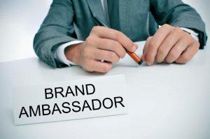 brand ambassadors are inspiring professioanls